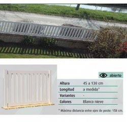 VALLA PVC ABIERTA DLCICLOPE