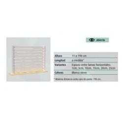 VALLA PVC DLAQUILES 200