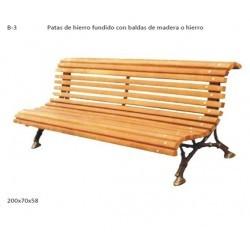 BANCO BALDAS DE MADERA Y...