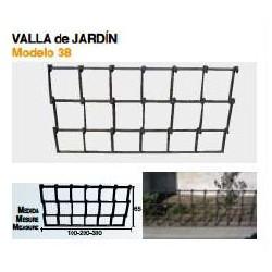 VALLA DE JARDÍN VL-38