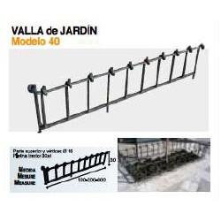 VALLA DE JARDÍN VL-40