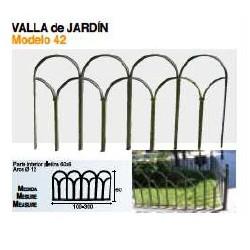VALLA DE JARDÍN VL-42