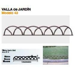 VALLA DE JARDÍN VL-43