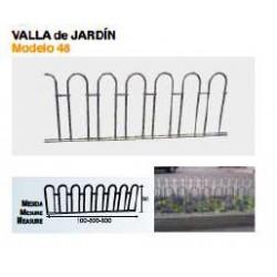 VALLA DE JARDÍN VL-48