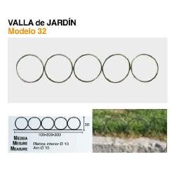 VALLA DE JARDÍN VL-32