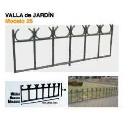 VALLA DE JARDÍN VL-35