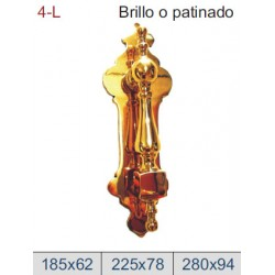 ALDABA DE LATÓN DT4-L